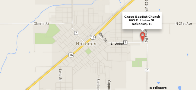 Map of Nokomis