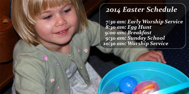 Easter Schedule