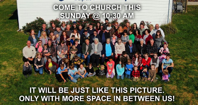 Come to Church this Sunday!