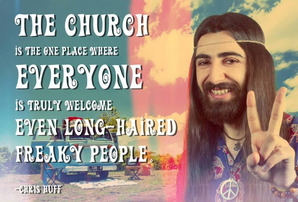 Everyone is welcome at church!