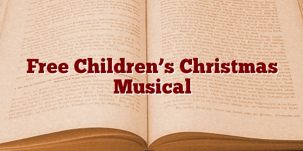 Free Children's Christmas Musical