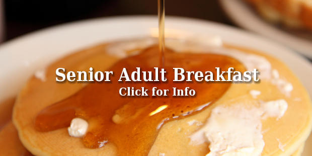 Pancakes for Senior Breakfast!